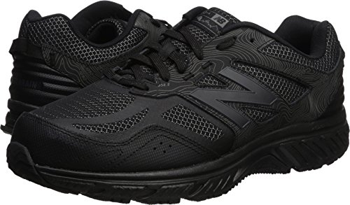New Balance Men's 510v4 Cushioning Trail Running Shoe, Black, 12 D - Shoes Mens Trail Black Running