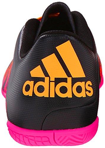 Adidas Performance X 15.4 cubierta Botas de fútbol, â??â??negro / shock rosa / oro, 7 M US Black/Shock Pink/Gold