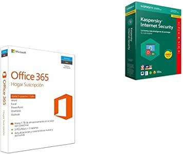 Microsoft Office 365 - Paquete Hogar, Para 5 PCs/Macs + 5