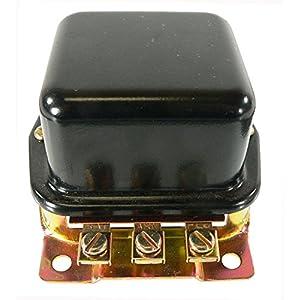 DB Electrical GFD6000 External Regulator For Ford 2N 8N 9N Tractor / 6 Volt Positive Ground A-Circuit 3-Terminal Bat-Arm-Fld 10-12 Amp / 8N-10505C, GR276