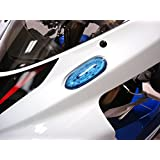 Hotbodies Racing S06GS-SIG-BLU LED Blinker/Mirror Block-Off with Blue Lens