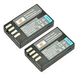 DSTE® 2x D-Li109 Replacement Li-ion Battery for Pentax K-R K-30 K-50 K-500 KR K30 K50 K500 K-S1 K-S2 Camera
