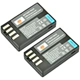 DSTE 2x D-Li109 Replacement Li-ion Battery for Pentax K-R K-30 K-50 K-500 KR K30 K50 K500 K-S1 K-S2 Camera