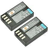 DSTE 2x D-Li109 Replacement Li-ion Battery for Pentax K-R K-30 K-50 K-500 KR K30 K50 K500 K-S1 K-S2 Camera