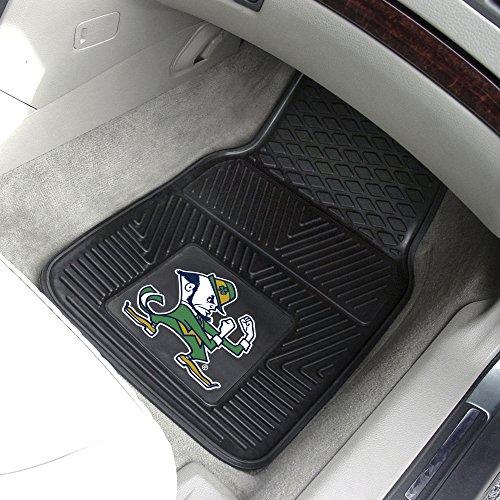 - Notre Dame 2-pc Vinyl Car Mat Set