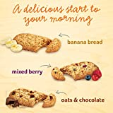 belVita Soft Baked Breakfast Biscuits, Banana Bread Flavor, 6 Boxes of 5 Packs