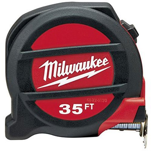 Tape Measuring Mag (Milwaukee Electric Tool 48-22-5136 Non-Mag Tape Measure, 35')