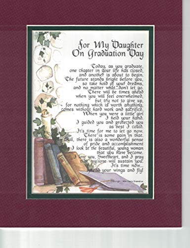 for My Daughter on Graduation Day, 139, A Graduation Gift Poem Present.