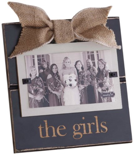 Mud Pie The Girls Photo Frame (Frames For Girls compare prices)