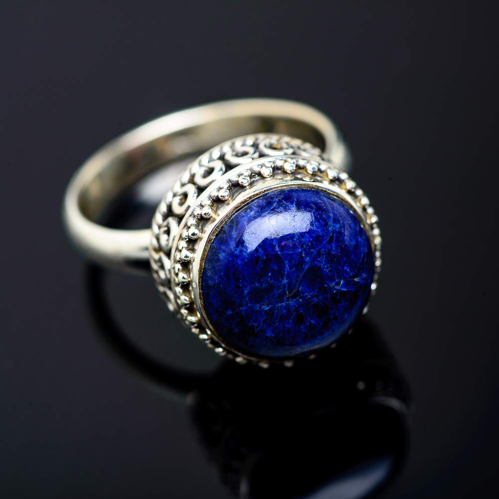 Ana Silver Co Lapis Lazuli Ring Size 9 925 Sterling Silver Bohemian - Handmade Jewelry Vintage RING951243