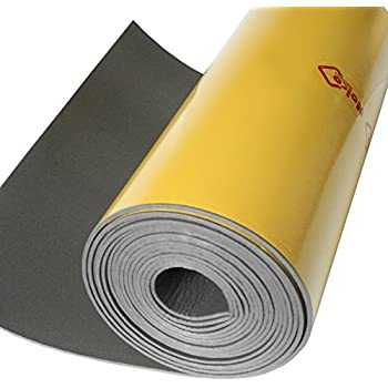 Noico WP 150 mil 36 sqft car waterproof insulation heat and cool liner, Closed Cell PE Foam CCF Self-adhesive Sound Deadening Material (1/6'' Thick Sound Deadener)