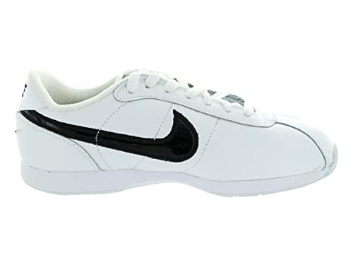 reputable site 9a1e1 f561d Nike Stamina Low Classic White Black Sneakers 172018-101 Youth Kids Girls  Sz 2.5 Box