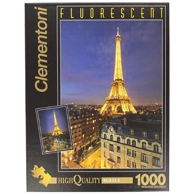 Clementoni Puzzle 39210 Paris 1000 Pezzi Fluorescenti