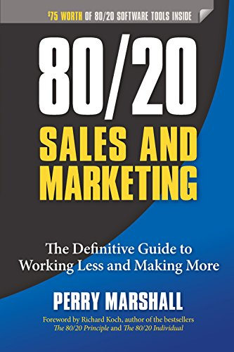 Amazon 8020 sales and marketing the definitive guide to amazon 8020 sales and marketing the definitive guide to working less and making more ebook perry marshall richard koch kindle store fandeluxe Choice Image