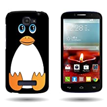 CoverON® for Alcatel One Touch Fierce 2 / Pop Icon Hard Design Case [Slender Fit Series] Slim Polycarbonate Back Phone Cover - ( Cute Penguin )