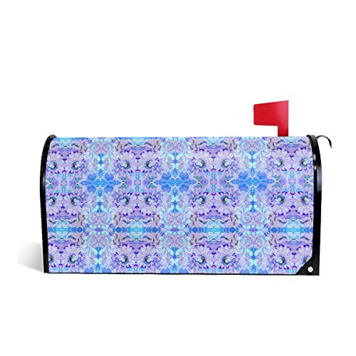 Mailbox Covers Standard Size Magnetic Mail Cover The Powder Puff Gang Blue Wraps Letter Post Box Cover 21
