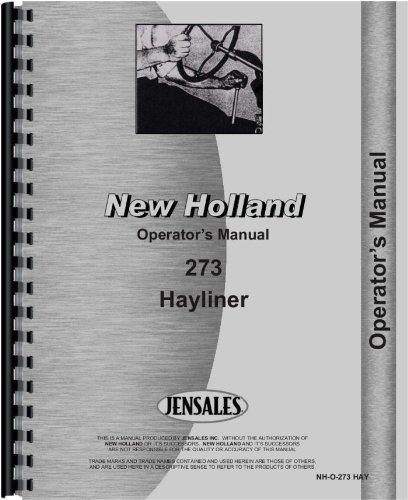 New Holland Baler Operators Manual (NH-O-273 HAY)