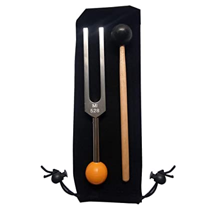 FangWWW Tuning Fork 528 HZ - with Buddha Bead Base for