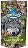 Wilderness Blue Buffalo Bayou Blend Dog Biscuits, 8 oz