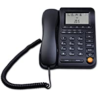 LeeKerTel LK-P017 Home Office Corded Phone with Headset Jack Adjustable Display with Call ID