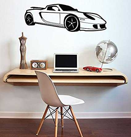 Buy Car Wall Decal Sport Car Vinyl Decal Buy Vinyl Decal 22x22 22x40