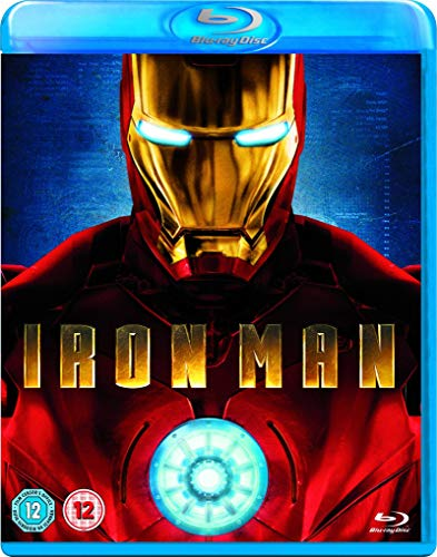 with Iron Man DVD's design