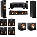 Klipsch RP-260F Tower Speakers-R112SW-7.2-Denon AVR-X3200W