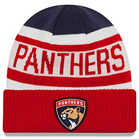 Image Unavailable. Image not available for. Color  New Era Knit Florida  Panthers Biggest Fan Redux Sport Knit Winter Stocking Beanie Pom ... 0e1a60f77819