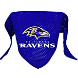Hunter MFG Baltimore Ravens Mesh Dog Bandana, Small