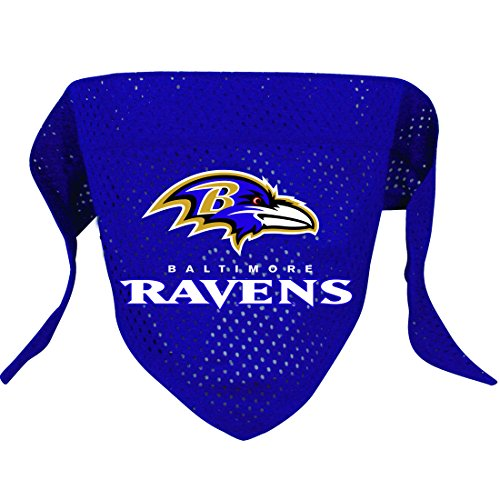 Hunter MFG Baltimore Ravens Mesh Dog Bandana, Large