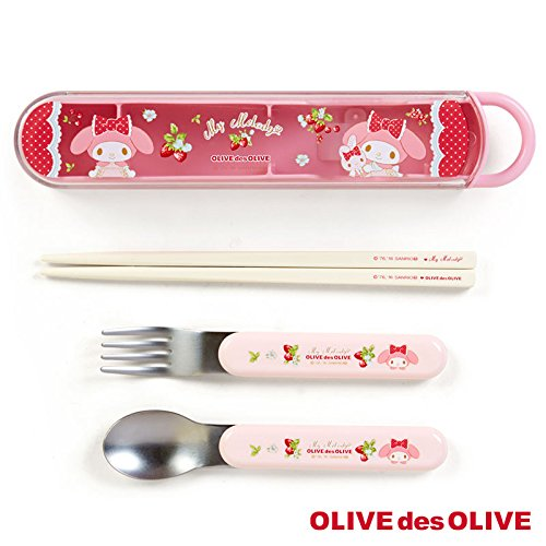 [Sanrio My Melody × OLIVE des OLIVE Slim lunch trio From Japan New] (Famous Trios Costumes)