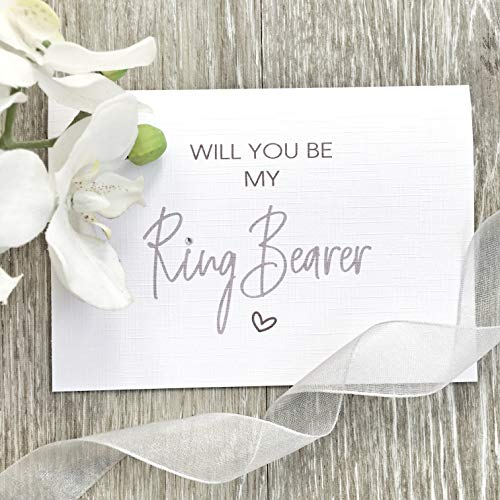 Will You Be My Ring Bearer - 'Will You Be' Range of Cards
