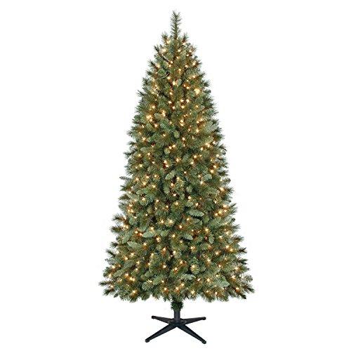 Lighted Christmas Tree 7ft - Christmas Tree Decorations - Christmas lights - Christmas Party Decoration - Xmas Tree Ornaments 2018 by AMX