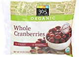 365 Everyday Value, Organic Whole Cranberries, 10