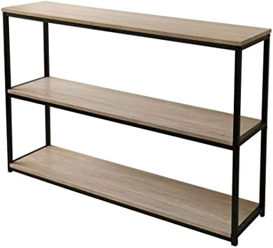 Fornord 151045 Console 3 Etageres Collection Loft Bois 125 X 38
