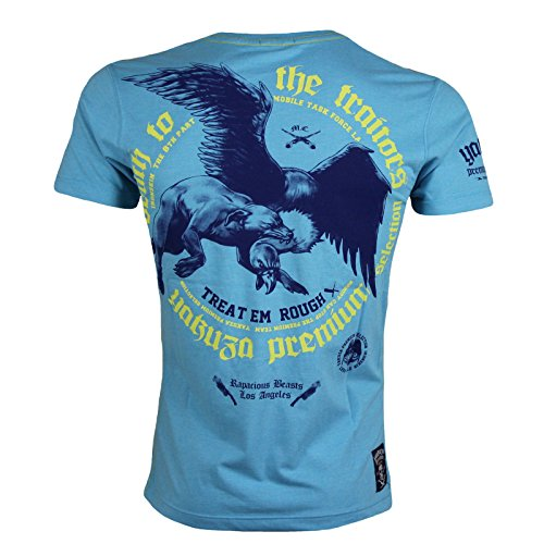 Yakuza Premium T-Shirt 2008 hellblau