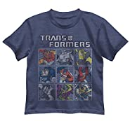 Transformers Boys' Little Boys' Matrix Group T-Shirt