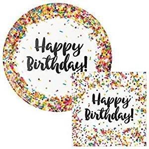 Creative Converting Sprinkles Birthday 9