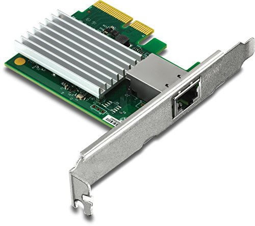 Trendnet 10 Gigabit PCIe Network Adapter, Supports 802.1Q...