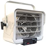 Dr. Heater DR966 240-volt Hardwired Shop Garage Commercial Heater, 3000-watt/6000-watt