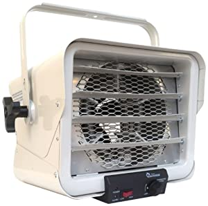 8. Heater DR966 240-volt Hardwired Shop Garage Commercial Heater, 3000-watt/6000-watt