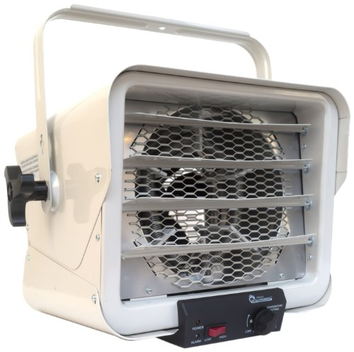 - Dr. Heater DR966 240-volt Hardwired Shop Garage Commercial Heater, 3000-watt/6000-watt