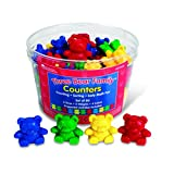 Learning Resources LER0725 Three Bear Family Counters, Set of 80
