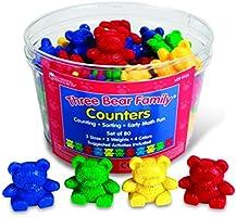 Three Bear Family® Counters, Set Of 80
