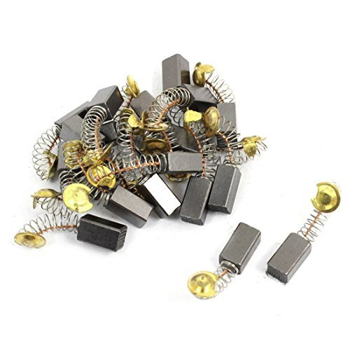 DealMux Power Tool Spare Part Carbon Motor Brushes, 14mm x 8mm x 7mm, 20pcs