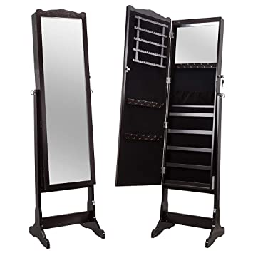 Miroir Sur Pied Range Bijoux