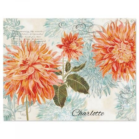 Floral Daydream (Floral Daydream Personalized Note Cards)