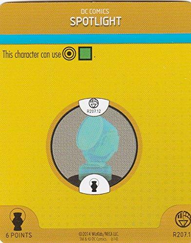 Heroclix War of Light Blue Lantern #207.12 Spotlight Construct Complete with Card