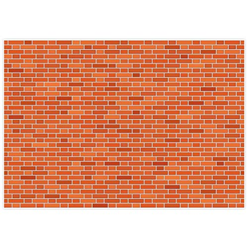 Allenjoy 7x5ft Street Themed Backdrop Brick Wall for Kids Boy's Girl 's 1st First Birthday Party Decor decoation Photo Booth -
