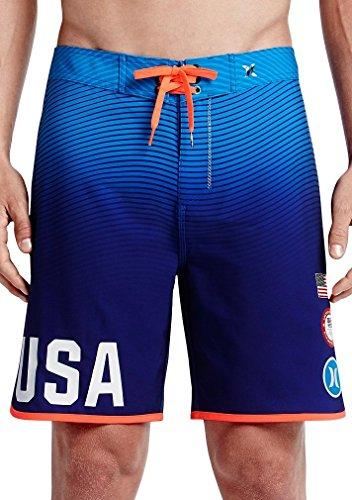 Hurley Men's USA Olympic Team Swimwear - Board Short, 31 , ()